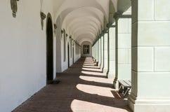 Arcade σε ένα μοναστήρι Στοκ Εικόνα