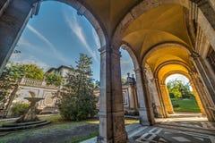 Arcade σε Parco delle Terme σε Montecatini, Στοκ εικόνες με δικαίωμα ελεύθερης χρήσης