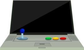 arcade σημειωματάριο απεικόνισης Στοκ Εικόνες