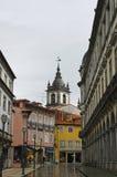 Arcade στη Braga Πορτογαλία Στοκ Εικόνες