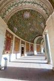 Arcade της βίλας Giulia στην πόλη της Ρώμης Στοκ Φωτογραφία