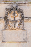 Arcade του ST Giorgio. Melpignano. Πούλια. Ιταλία. Στοκ Εικόνες