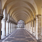 Arcade. San Marco square in Venice Royalty Free Stock Image