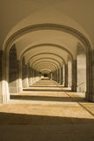 Arcade. Of the monastery of the Valley of the Fallen in Madrid Royalty Free Stock Images
