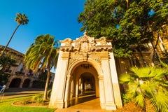 Arcade in Balboa Park. California Royalty Free Stock Photos