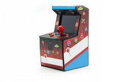 Arcade box isolated. On white background Royalty Free Stock Photos