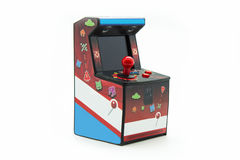 Arcade box. Isolated on white background Stock Photo