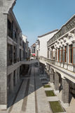 Arcade building,china. Arcade building,Traditional architecture,china Stock Image