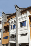 Arcade building,china. Arcade building,Traditional architecture,china Stock Photo