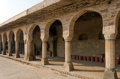 Arcade of Chand Baori Stepwell in Jaipur Royalty Free Stock Photography