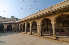 Arcade of Chand Baori Stepwell Stock Image