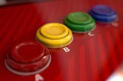 Arcade Control Panel Royalty-vrije Stock Foto's