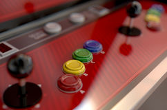 Arcade Control Panel Royalty Free Stock Images