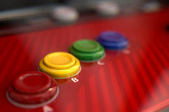 Arcade Control Panel Stock Image