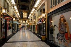 Arcade de brin sur la rue Auckland Nouvelle-Zélande de la Reine Photo stock
