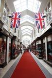 Arcade de Burlington, Londres image libre de droits