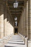 Arcade de Palais Royal Photographie stock libre de droits