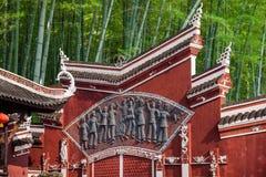 Arcade de ville de Hubei Enshi Images stock