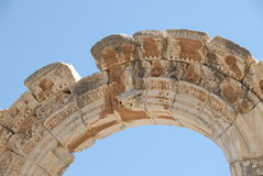 Arcade in Ephesus. Asia Minor, Turkey Royalty Free Stock Images