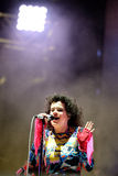 Arcade Fire (indie rock band) performs at Heineken Primavera Sound 2014 Festival Royalty Free Stock Images