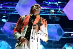 Arcade Fire (indie rock band) performs at Heineken Primavera Sound 2014 Festival Stock Photo