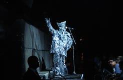 Arcade Fire. Rio de Janeiro, April 4, 2014 Stock Photos