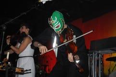 Arcade Fire. Rio de Janeiro, April 4, 2014 Royalty Free Stock Images