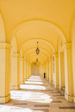 Arcade gallery of Schoenbrunn palace in Vienna Royalty Free Stock Images