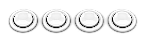 Arcade game buttons Royalty Free Stock Image