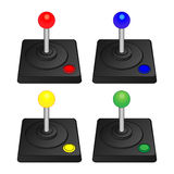 Arcade Joysticks Photo libre de droits