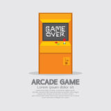 Arcade Machine stock illustrationer