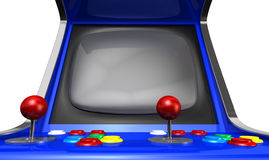 Arcade Machine Closeup Royalty Free Stock Photos