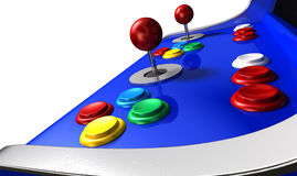 Arcade Machine Closeup Royalty Free Stock Image