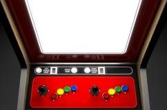 Arcade Machine Screen Royalty-vrije Stock Fotografie