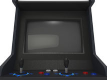 Arcade Machine Screen Royalty Free Stock Photos