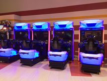 Arcade machines Royalty Free Stock Images