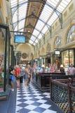 Arcade Melbourne reale Immagine Stock Libera da Diritti