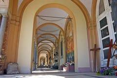 arcade mirogoj Ζάγκρεμπ Στοκ εικόνες με δικαίωμα ελεύθερης χρήσης