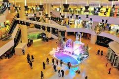 Arcade Pacifique de place, Hong Kong Photo stock
