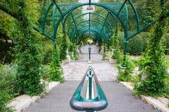Arcade Parc de Belleville στο Παρίσι Στοκ Εικόνες