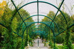Arcade Parc de Belleville στο Παρίσι Στοκ εικόνα με δικαίωμα ελεύθερης χρήσης