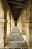 Arcade passageway Stock Image