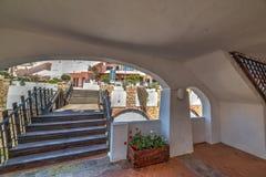 Arcade in Poltu Quatu. Sardinia Royalty Free Stock Images