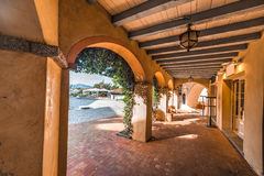 Arcade in Porto Rotondo in Costa Smeralda. Sardinia Royalty Free Stock Photo