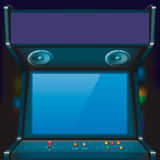 Arcade. Retro arcade game machine. Vector illustration vector illustration
