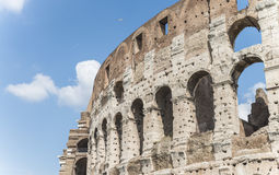 Arcade of the Roman Colosseum.Italy. Royalty Free Stock Images