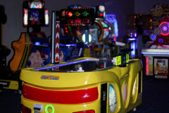 Arcade Room Royalty Free Stock Photography