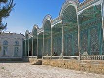 Arcade Sitorai Mokhi-Khosa palace in Bukhara Royalty Free Stock Photos