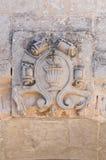 Arcade of St. Giorgio. Melpignano. Puglia. Italy. Detail of the Arcade of St. Giorgio. Melpignano. Puglia. Italy Royalty Free Stock Images
