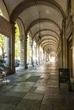 Arcade in Turin, Italy Stock Photos